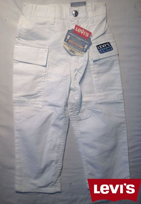 Boys Levis Jeans -Lansing/White(Not a Boys Suit Or a Girls Dress)
